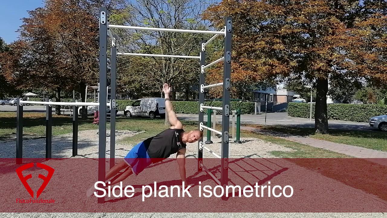 side plank isometrico
