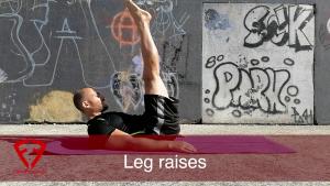 leg raises a terra