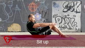 sit up addominali