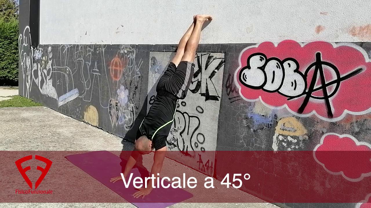 esercizi per imparare la verticale