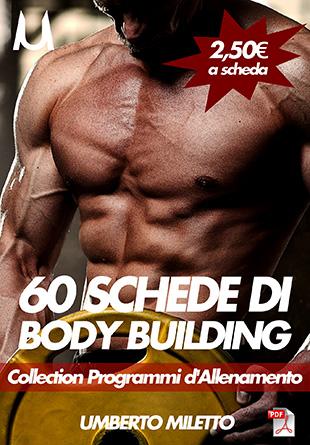 schede bodybuilding palestra