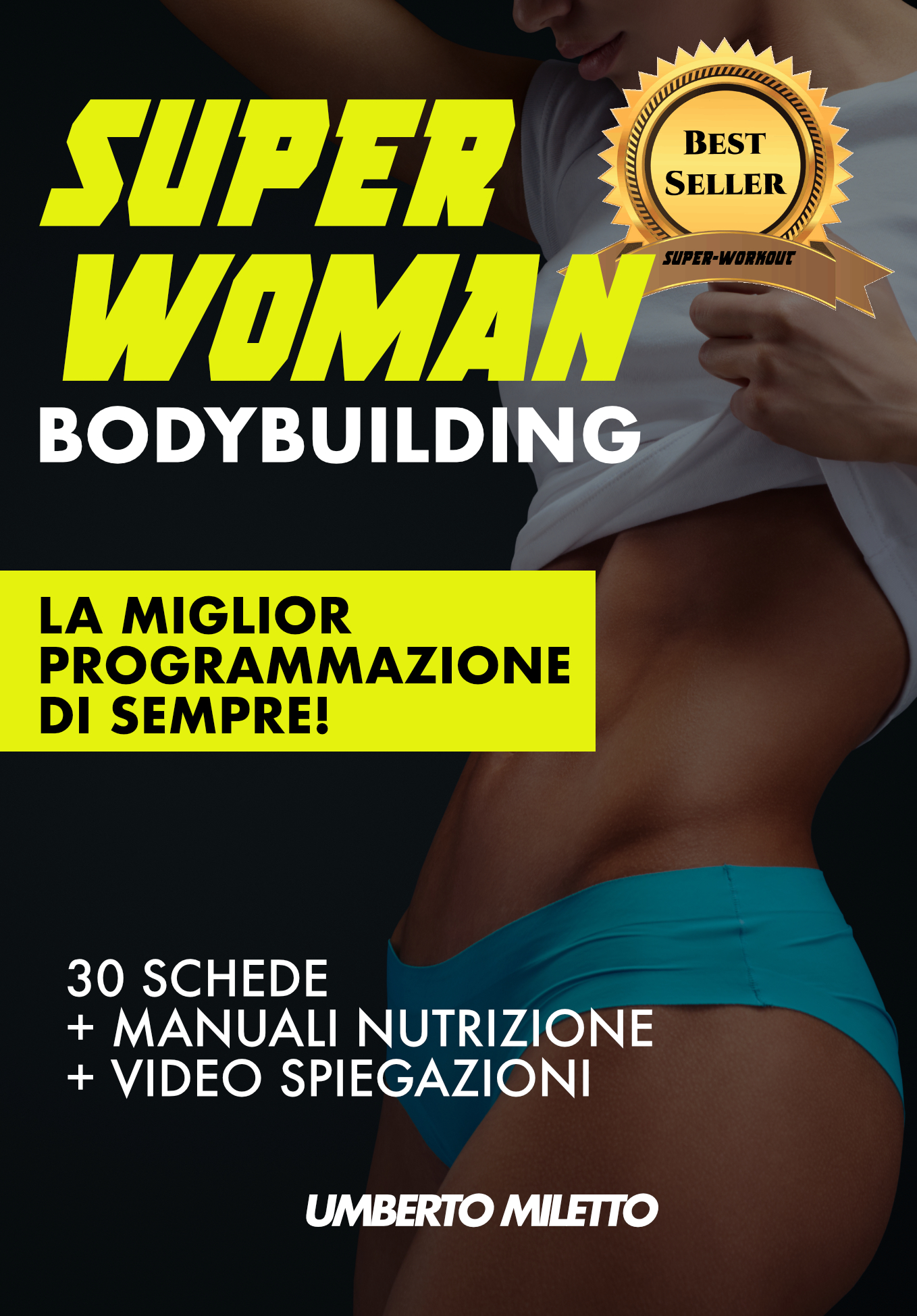 superwoman palestra bodybuilding
